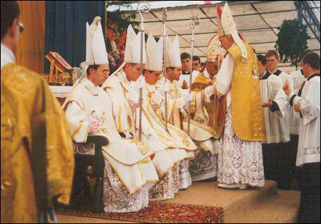 Las famosas ordenaciones