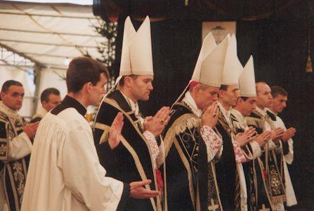 En el Funeral de Mons. Lefebvre
