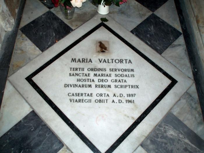 Tumba de María Valtorta