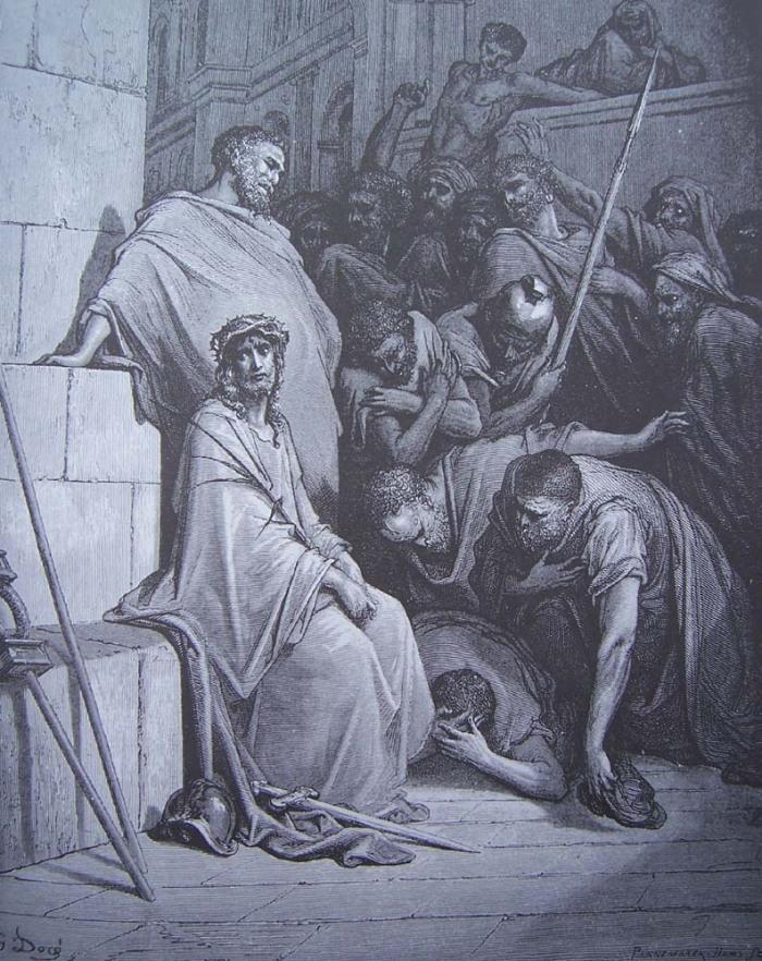 53-Matthieu (27, 22-31) - Jésus insulté