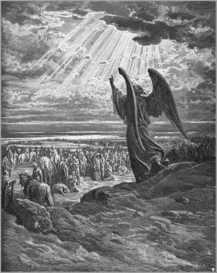 Bible_Gustave-Dore-Dore_The_Angel_appearing_to_Joshua