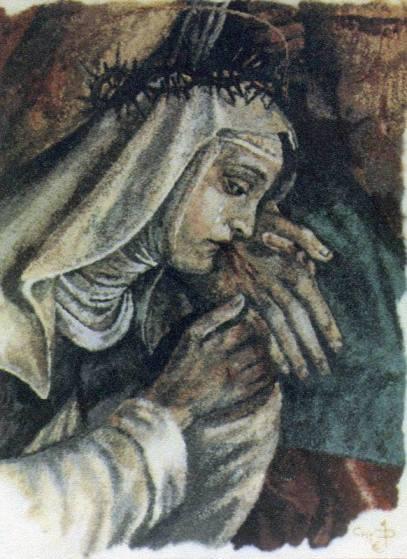 """Santa Catalina de Siena, recibió esta frase de Nuestro Señor Jesucristo: """"LA SODOMÍA ES PESTILENTE PARA MÍ Y DESAGRADABLE HASTA PARA LOS MISMOS DEMONIOS"""""""