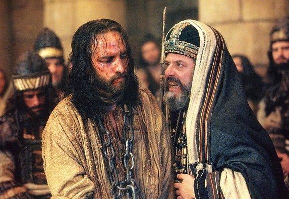 Jesus en el sanedrin