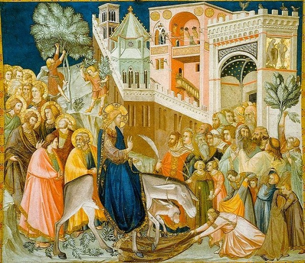 Assisi-frescoes-entry-into-jerusalem-pietro_lorenzetti 1320