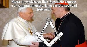 Ratzinger Bergoglio masones