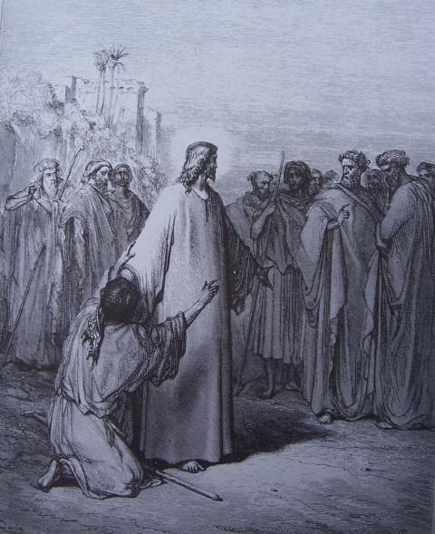 39-Matthieu (9, 31-35) - Jésus guérit un muet possédé du démon