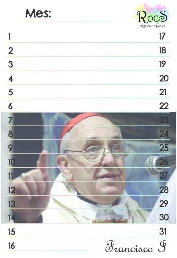 Calendario Francisco