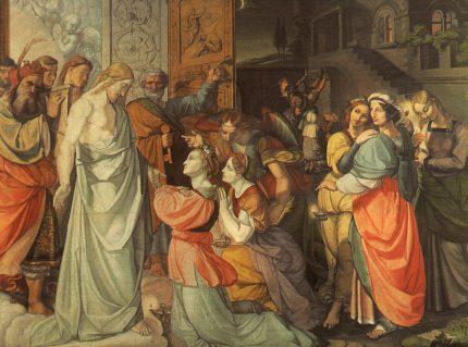 Las virgenes necias y las prudentes-Peter von Cornelius