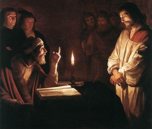 Jesus es condenado por el Sanedrin