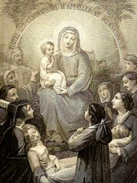 ANTIGUA ORACIÓN PARA VER A LA VIRGEN MARÍA