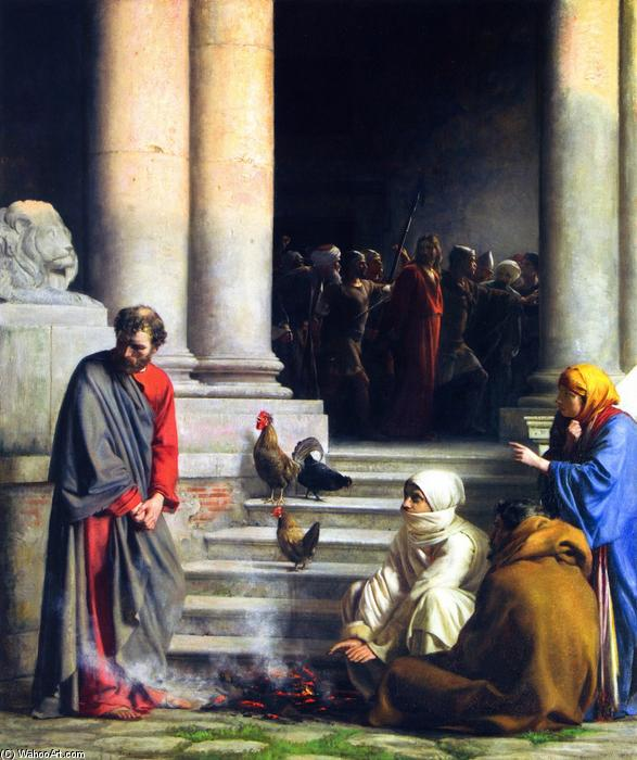 Carl-Heinrich-Bloch-The-Denial-of-Peter
