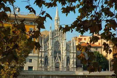 Chiesa del Sacro Cuore del Sufragio en Roma Foto Panoramio