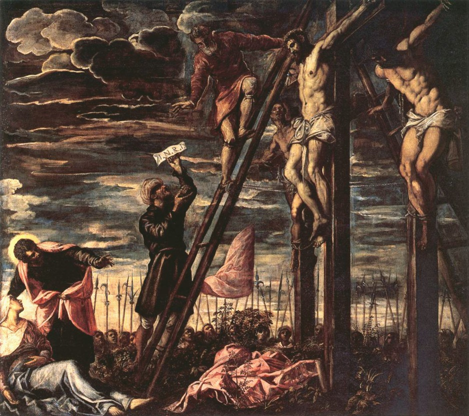Tintoretto, Crucifixion of Christ 1568.jpg