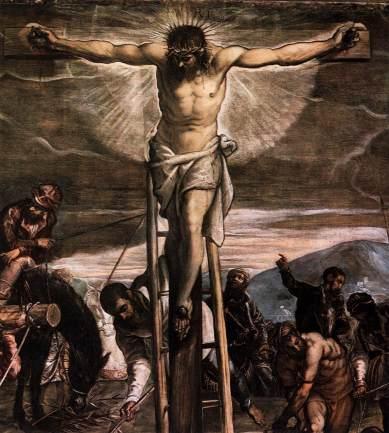 tintoretto_crucifixion-detail