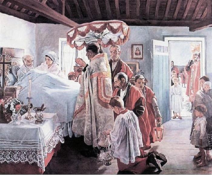 Ssmo a casa de los enfermos