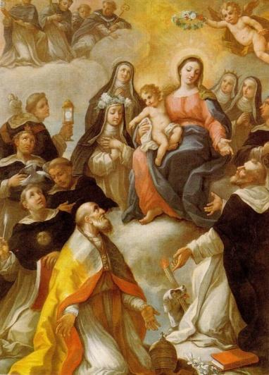 virgen y santos