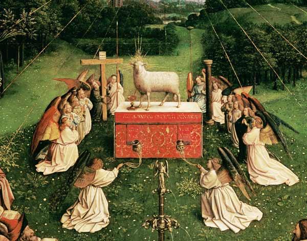 Genter-Altar-Agnus