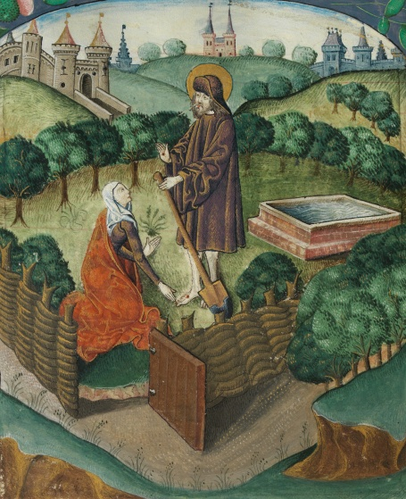 Christ_appears_to_Mary_Magdalen_as_a_gardener_(Noli_me_tangere)_(f._134v)_Cropped