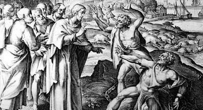 Jesús expulsa demonios