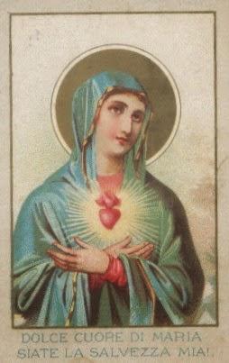 INMACULADO CORAZON DE MARIA DIA 1