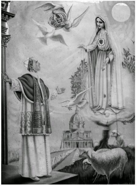 Visión de San Pío XII