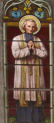vianney_philomene_stained_glass
