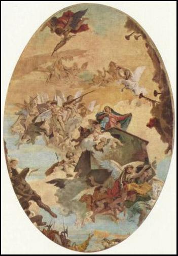 G.B. Tiepolo - Traslazione della Santa Casa | Fonte: internet