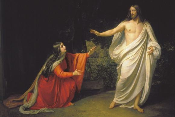 appearance-of-jesus-christ-to-font-b-maria-b-font-font-b-magdalena-b-font-oil