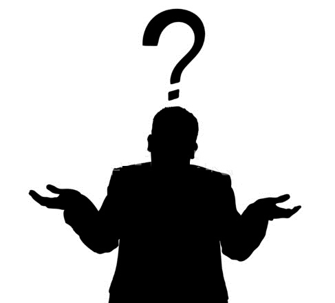 9985481-business-man-shrug-silhouette-with-question-mark